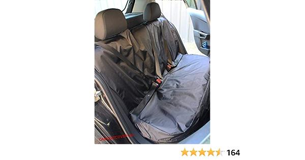 Carseatcover Uk Strapazierfähiger Schwarzer Wasserdichter Rücksitzbezug Passend Für Die Meisten Autos Auto
