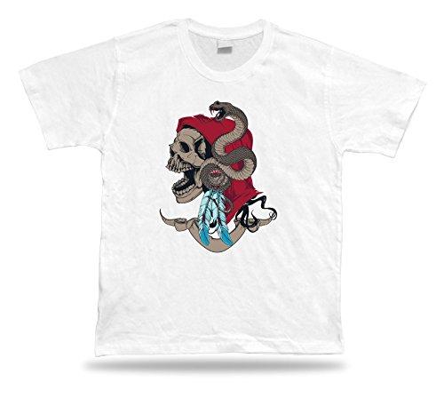 Tshirt Tee Shirt regalo di compleanno di idea del serpente Maestro Teschio Gypsy Fate Magia Classic