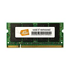 2GB RAM Memory Upgrade for the Toshiba Satellite P105 Series Notebook Laptops (DDR2-533, PC2-4200, SODIMM)