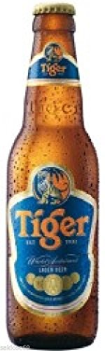 6 Flaschen Tiger Beer Asien a 0,33L Bier Tiger asian inc. 0,48€ MEHRWEG Pfand -