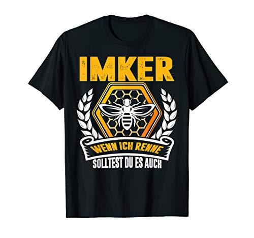 Herren Imker T-shirt - Wenn Ich Renne Solltest Du Es Auch
