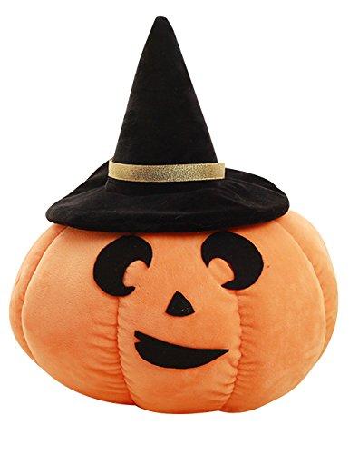 THEE Halloween Kürbis Werfen Kissen Sofa Kissen Plüsch Gefüllte Spielzeug (Werfen Kürbisse Halloween)