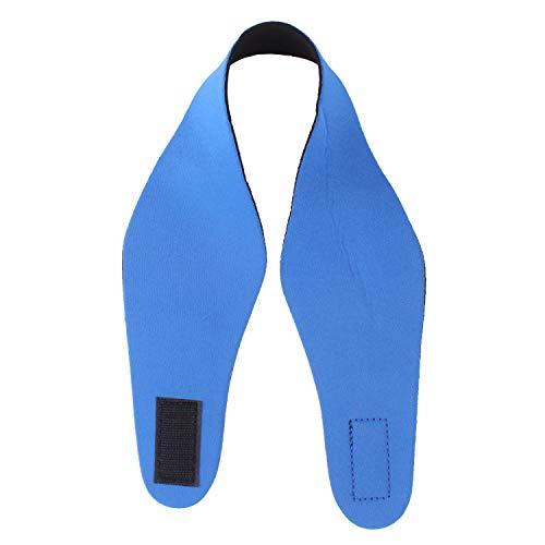 ANSUG Schwimmen Stirnband verstellbares Ohr Band Ohrenschützer für Kinder Schwimmen Bade Neopren Kopfband - halten Sie Ihre Ohren trocken (L, blau)