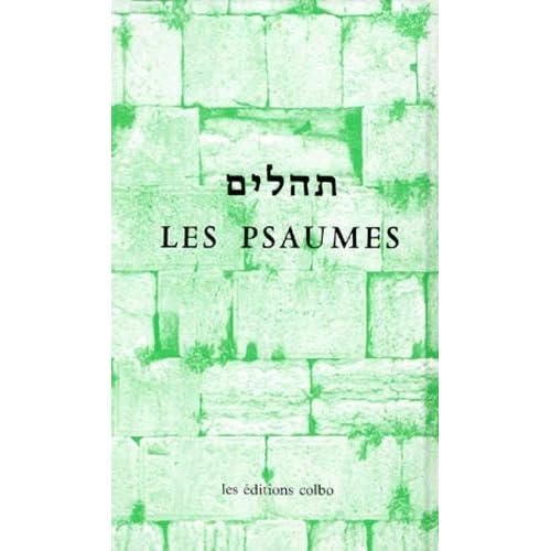 Psaumes bilingues : français-hébreu