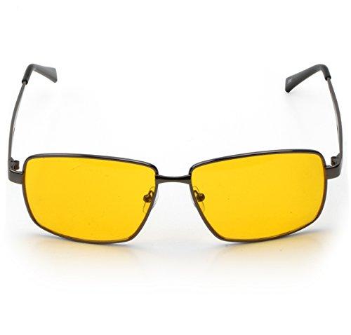 Trixes Brille mit UV-Schutz und Antireflexbeschichtung für Tag und Nacht für mehr Sicherheit beim Fahren und mehr Komfort