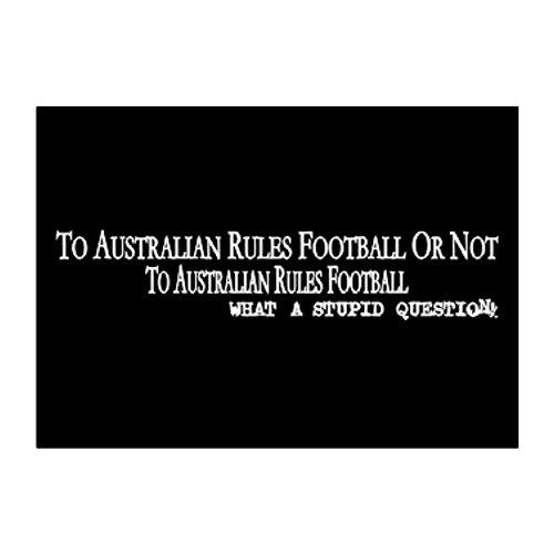 Teeburon To Australian Rules Football Aufkleber Packung x4