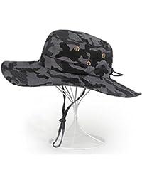 15a0eef31928b Sunny Sombrero para El Sol Hombre Temporada De Verano De Moda Algodón Aire  Libre Gorra De