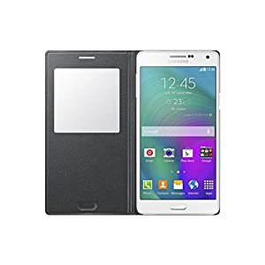 Samsung EF-CA700BCEGWW S-View Cover für Galaxy A7 schwarz