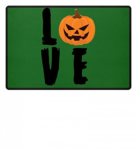 Love Pumpkin - Kürbis Happy Halloween - Geschenk - Funny Gift Idea - Trick or Treat - Fußmatte