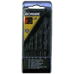 Ironside 230150 HSS-Bohrer-Satz 6-teilig