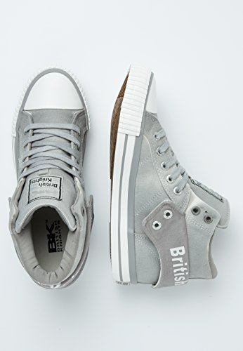 British Knights Roco Donne Alte Sneakers Lt Grey