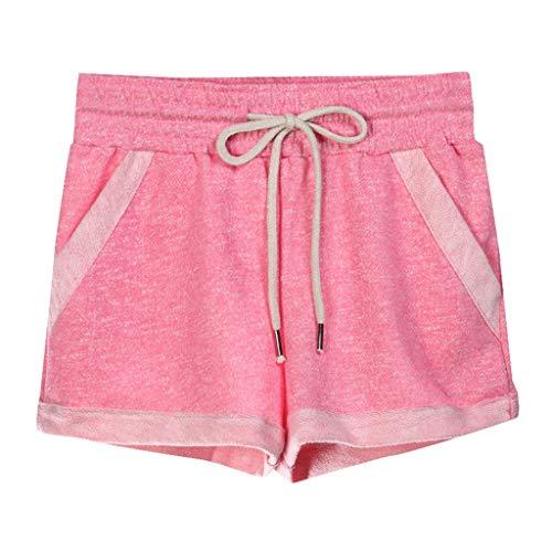 MOTOCO Damen Sommer GroßE Shorts Fitness Yoga Home Hosen Freizeitsport (Pepe Lange Strümpfe Kostüm)