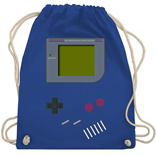 Nerds & Geeks - Gameboy - Unisize - Royalblau - WM110 - Turnbeutel & Gym Bag
