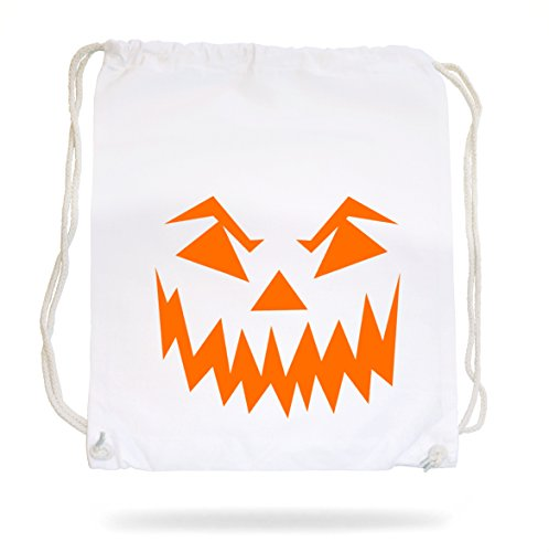 Halloween Face Gymsack White Certified Freak