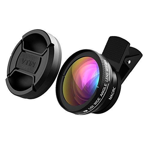 victsing-2-in-1-clip-on-045x-super-wide-angle-lens-10x-super-macro-lens-professional-hd-lens-kits-fo