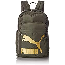 Puma Originals Backpack, Unisex Adulto, Forest Night/Gold, OSFA