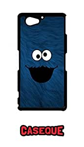 Caseque Cookie Monster Back Shell Case Cover for Sony Xperia Z2 Compact