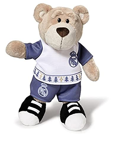 NICI 16754 Real Madrid Plush Bear with Christmas