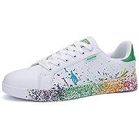 Fexkean Uomo Donna Sneakers Scarpe da Ginnastica Basse Running Tennis Scarpe Foundation