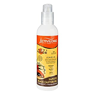 Activilong Actiforce Leave In Black Castor Oil Sapote Kastoröl und Sapote-Butter 240 ml