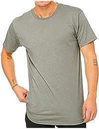 Bella + Canvas Camiseta con Cuerpo Largo Modelo Urban Hombre Caballero