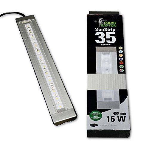 Econlux SolarRaptor SunStrip für Reptilien RGB/W/UVA, 45cm, 15,8W