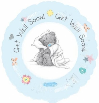 Me To You Get Well Soon Foil Balloon by Amscan
