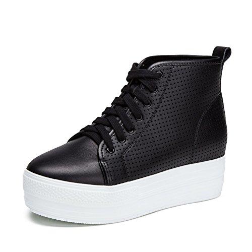 Chaussures de sport féminin/Hauteur de plate-forme augmentant des chaussures/Chaussures de sport/Chaussures de maille plate ajourée B