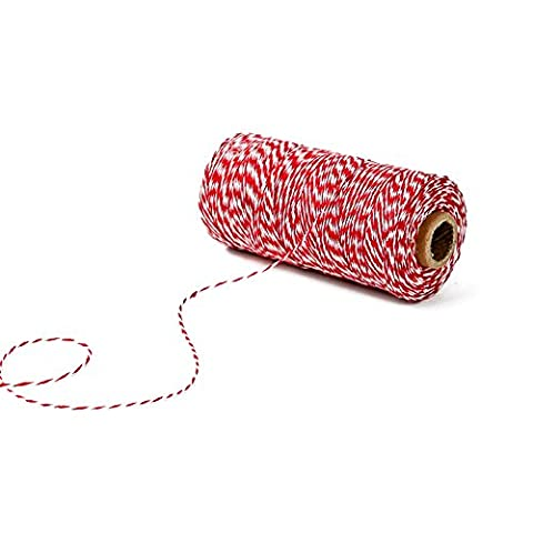 G2PLUS 300 Feet Craft Bakers Twine Garden Thread Durable Tags