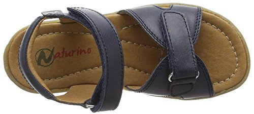 Naturino Naturino Sun, Sandales  Bout ouvert mixte enfant Bleu (Blau)