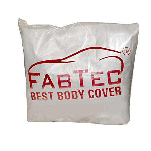 SILVER MATTY CAR BODY COVER FOR FORD FIGO 2010-2012
