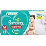 Pampers New Diaper Pants, Medium, 54 Count
