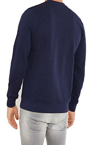 Herren Threadbare Neuheit Aufdruck Pullover Festive Weihnachts Pullover Marine