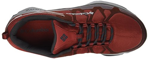 Columbia Conspiracy V Outdry, Chaussures de Randonnée Basses Homme Rouge (Gypsy, Lux)