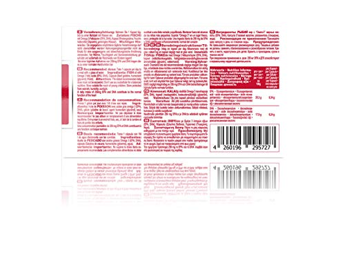 IronMaxx Platinum Omega 3 Kapseln – 1000mg Omega 3 Fischöl-Kapseln, hochdosiert – 1 x 60 Kapseln - 5