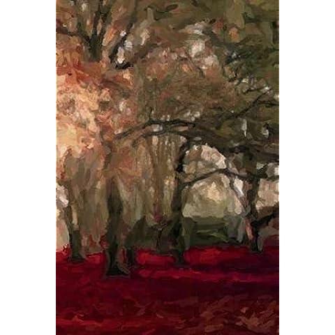 Forest Floor, formato A4, colore: rosso cremisi di Greene, Taylor-Stampa