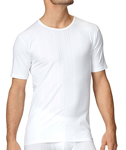 Calida Herren Unterhemd T-Shirt Pure & Striped White