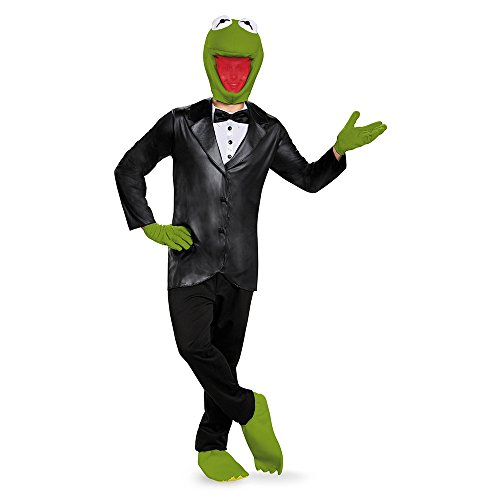 The Muppets Kermit Deluxe Costume Adult X-Large ()