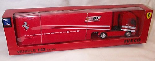 newray-red-iveco-stralis-ferrari-transporter-lorry-143-scale-diecast-model
