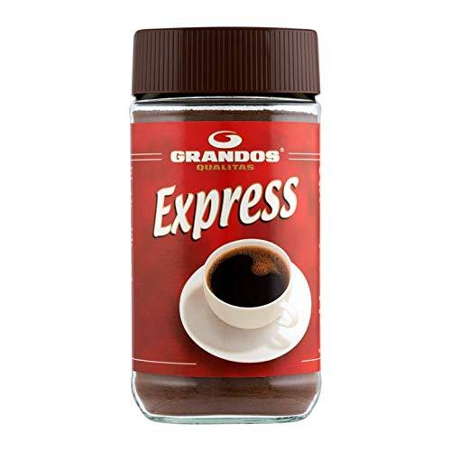 Löslicher Kaffee   Grandos   Qualität Express   Gesamtgewicht 200 Gramm