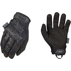 Mechanix Wear - Guantes Originales (Medio, Negro)