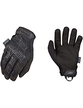 Mechanix Wear - Guantes Originales (Medio, Negro)