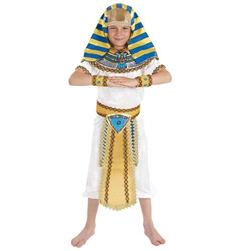 Ägypter Junge - Kinder Kostüm (Lust Kinder Kostüm)