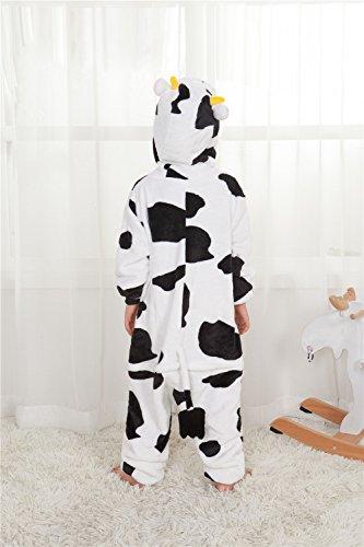 Missley Unicorn Pajama Adult Anime Cosplay Costume di Halloween Costume Cow-Children