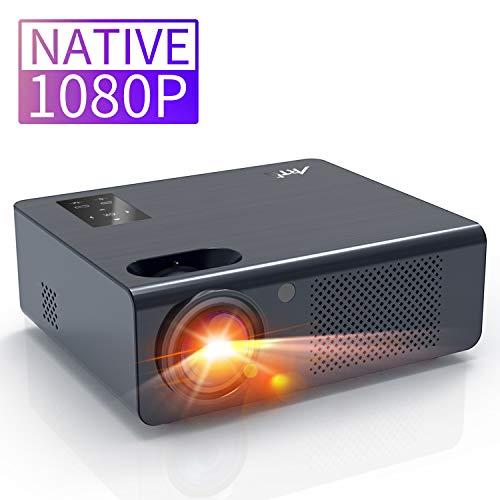Beamer Full HD 1920 x 1080 Artlii EnergonPlus Beamer 1080P Nativ mit Zoom und unterstützt Dolby Projektor kompatibel mit USB-Stick, TV Stick, Xbox, Laptop, Smartphone, für Filme, Unterhaltung, Spiele