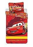 Disney Cars Parure de Lit bébé - Housse de Couette Coton