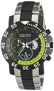 Nautec No Limit Herren-Armbanduhr P-Racer RP QZ/STIPSTBKYL