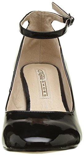 Pu 1 Pumps Schwarz Black 15p54 Patent Damen 01 Buffalo qEwxATtS1