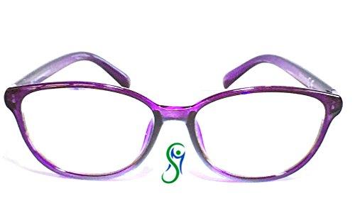 Occhiali con lenti neutre protettive Anti Luce Blu (fino al 40%) e UV, per PC, Tablet, Smartphone, TV, gaming, illuminazione Led. Qualità certificata.