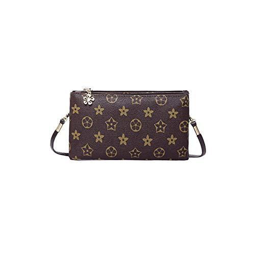 Dboar mini borsa tracolla in pelle portafoglio porta cellulare pochette donna elegante borsetta a spalla con tracolla rimovibile
